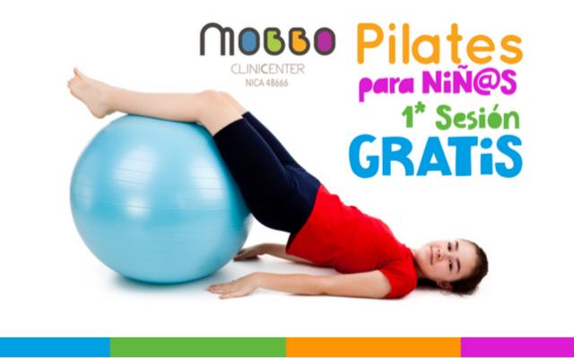 Pilates infantiles promoción